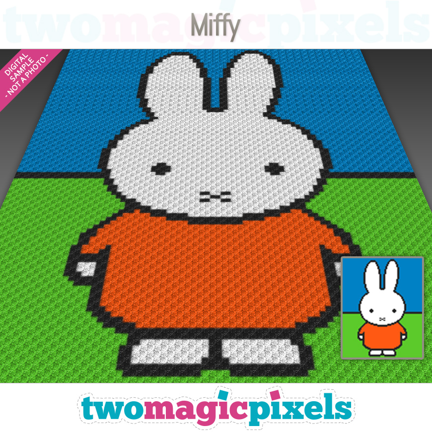 Miffy by Two Magic Pixels