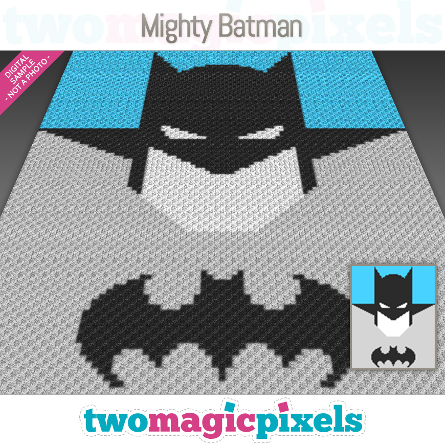Mighty Batman by Two Magic Pixels