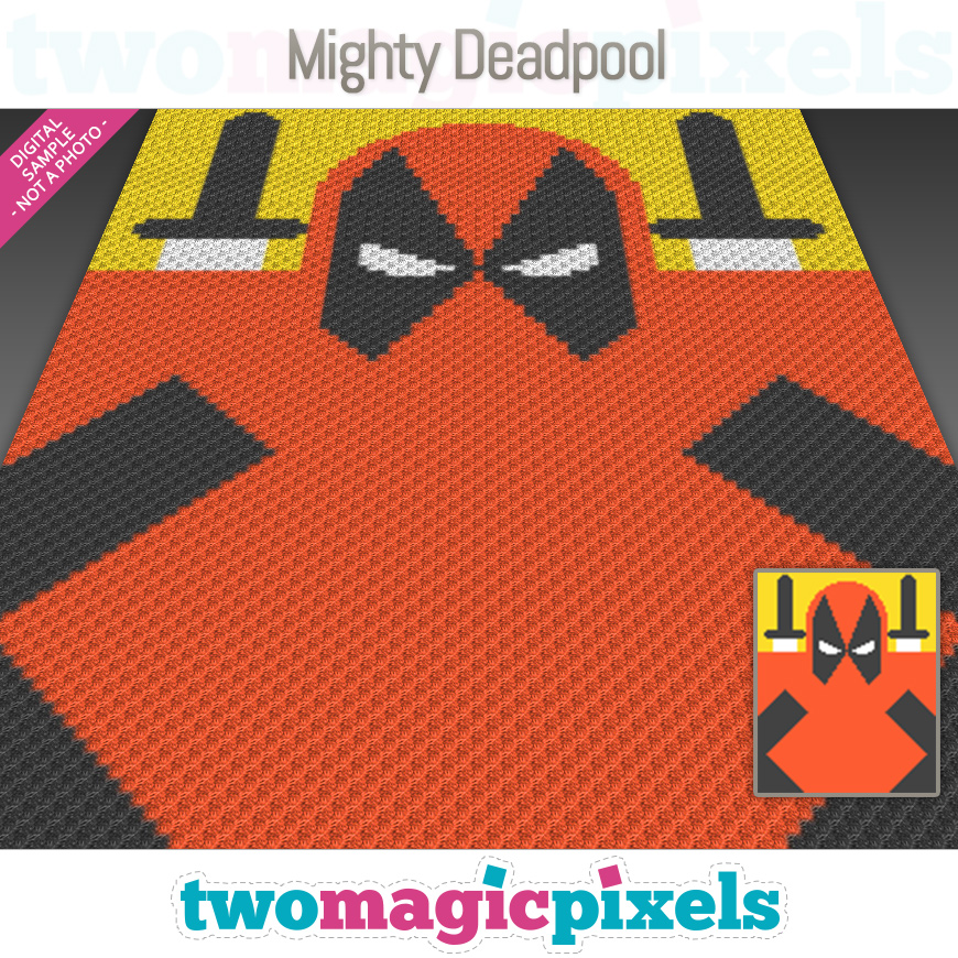 Mighty Deadpool by Two Magic Pixels
