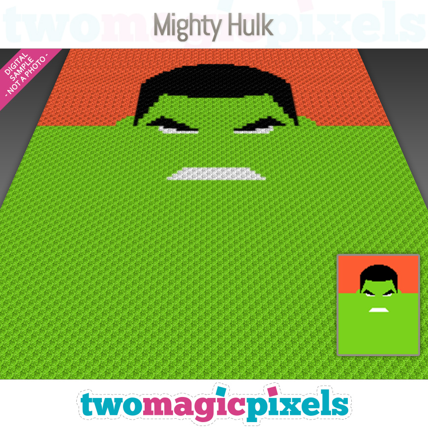 Mighty Hulk by Two Magic Pixels