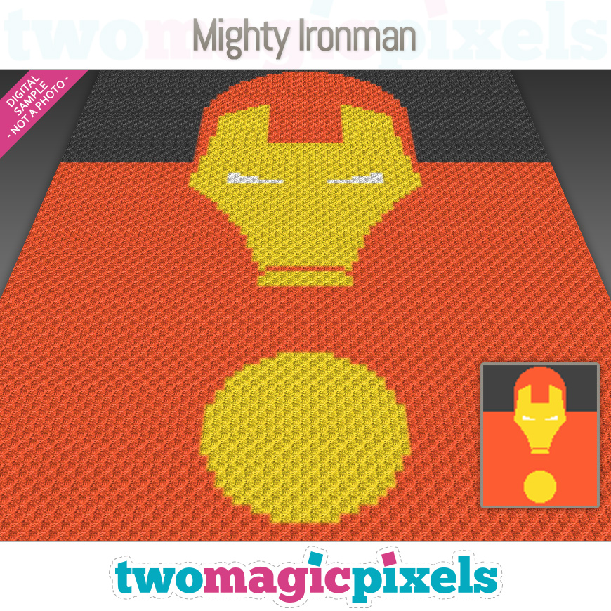 Mighty Ironman by Two Magic Pixels