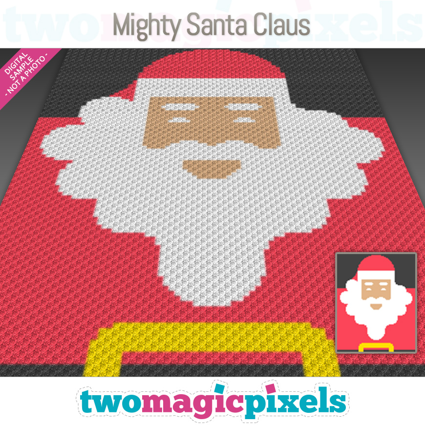 Mighty Santa Claus by Two Magic Pixels