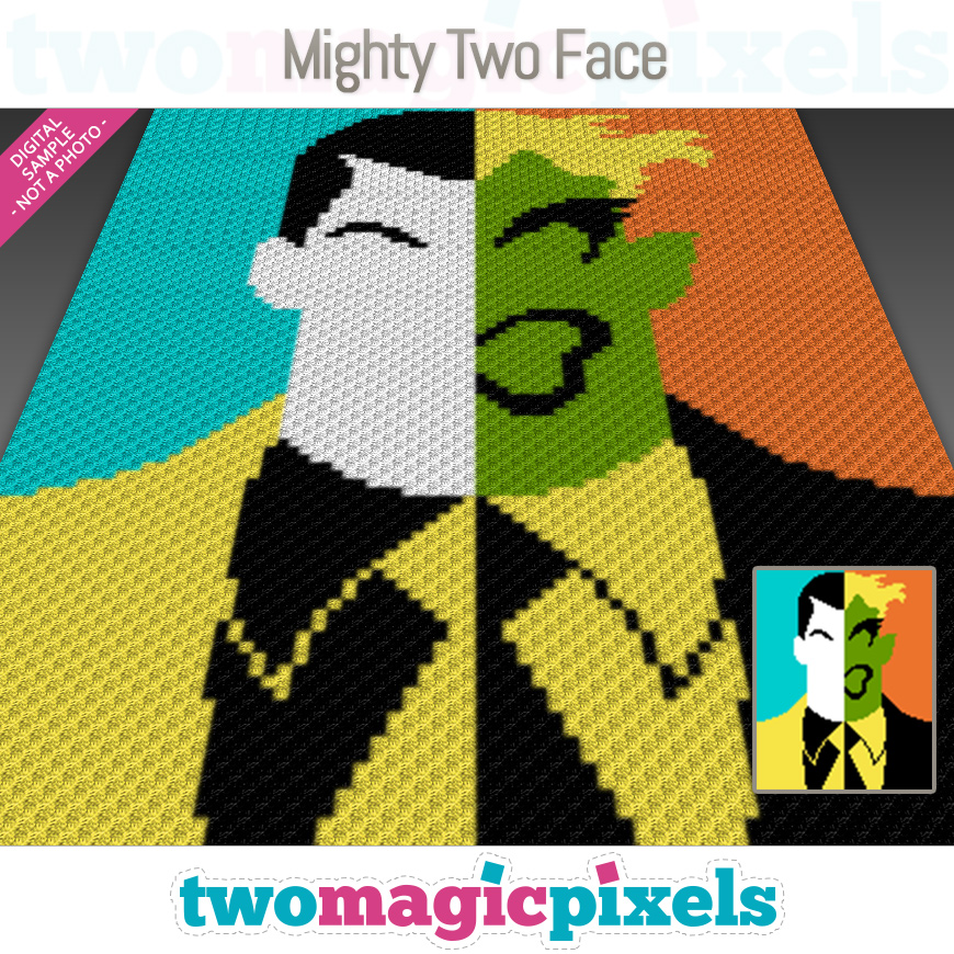 Mighty Two Face by Two Magic Pixels