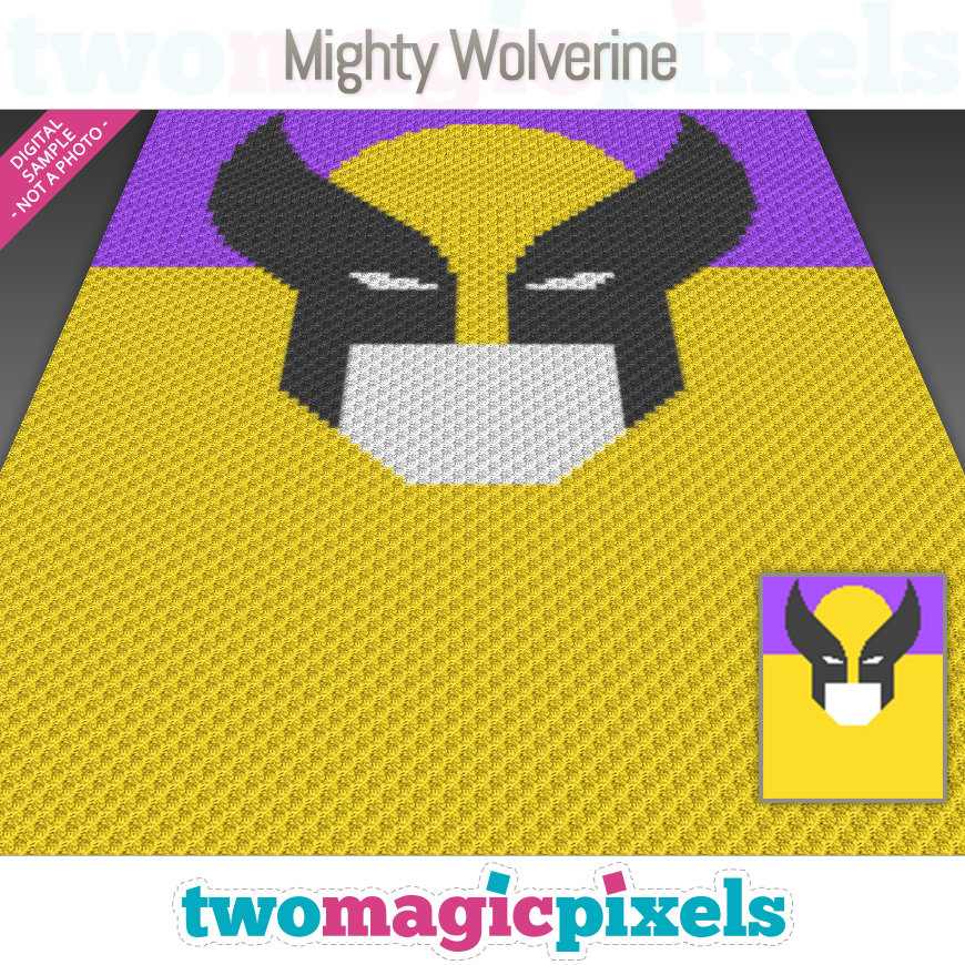 Mighty Wolverine by Two Magic Pixels