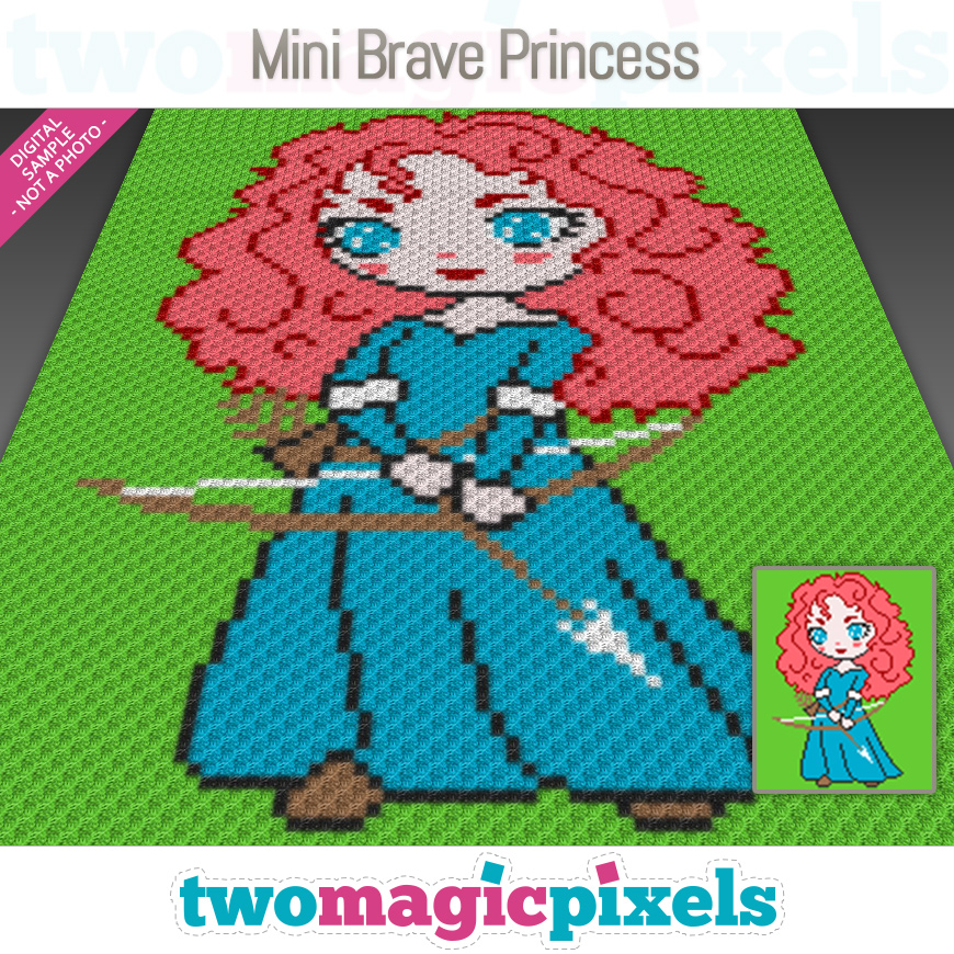Mini Brave Princess by Two Magic Pixels