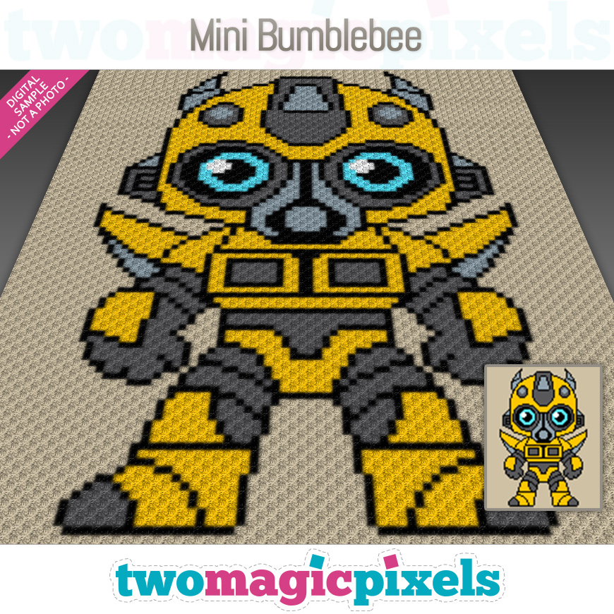 Mini Bumblebee by Two Magic Pixels