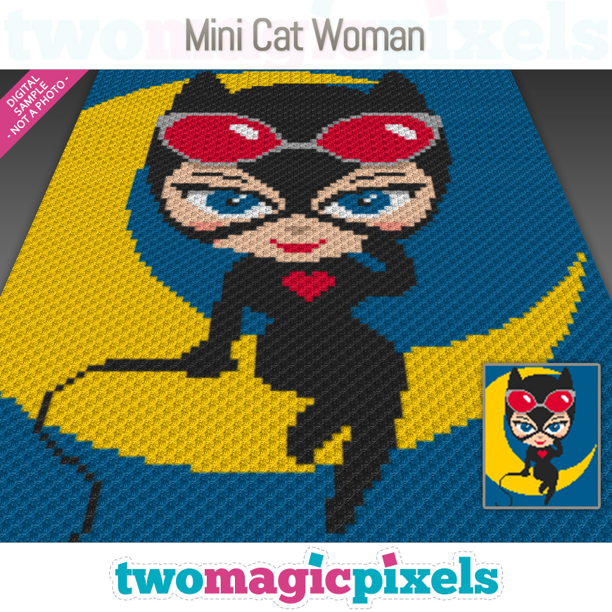 Mini Cat Woman by Two Magic Pixels