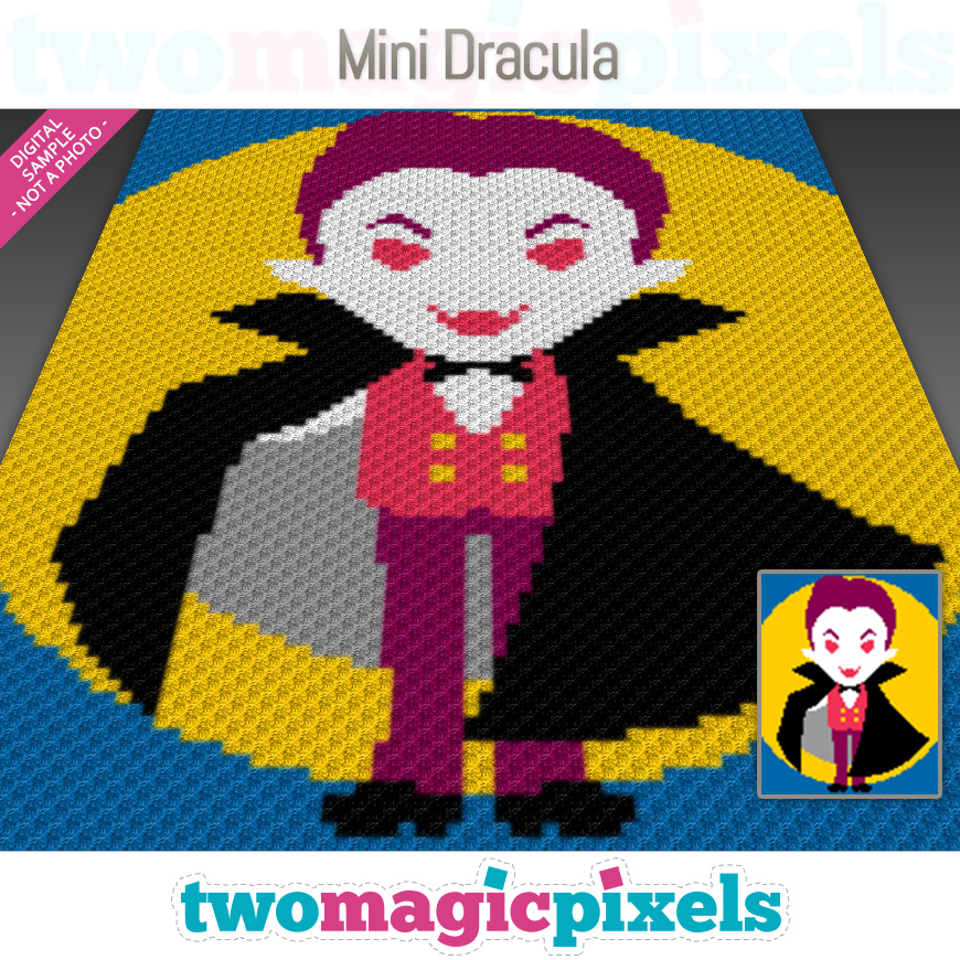 Mini Dracula by Two Magic Pixels