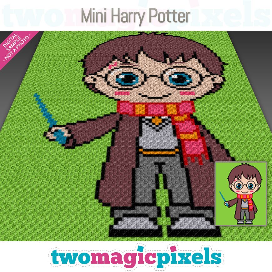 Mini Harry Potter by Two Magic Pixels