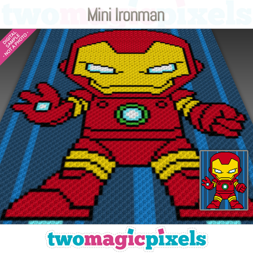 Mini Ironman by Two Magic Pixels