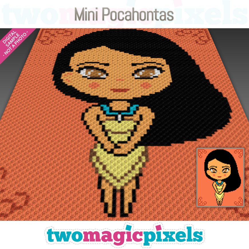 Mini Pocahontas by Two Magic Pixels