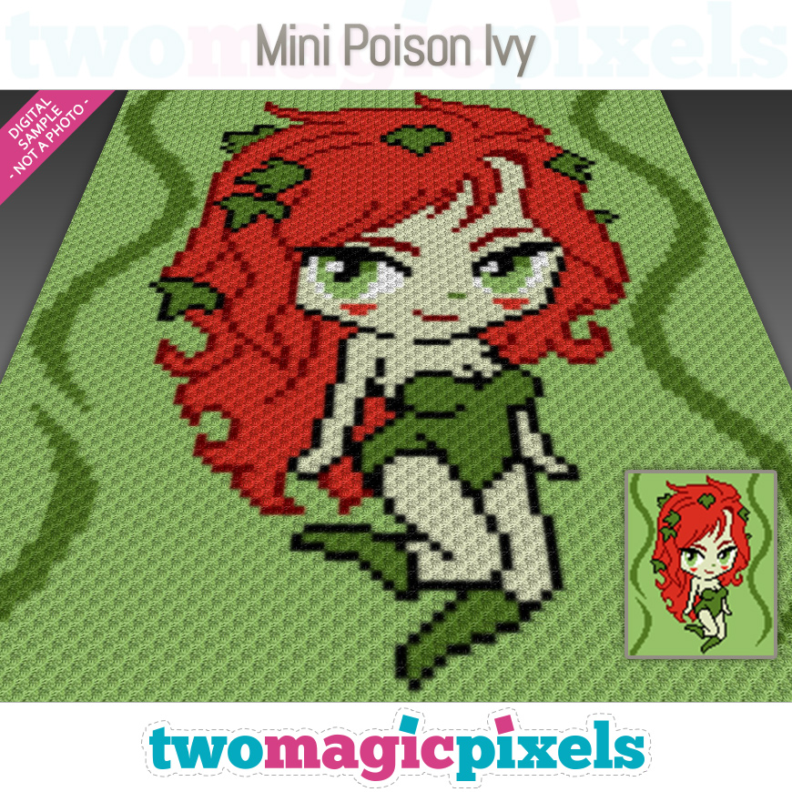 Mini Poison Ivy by Two Magic Pixels