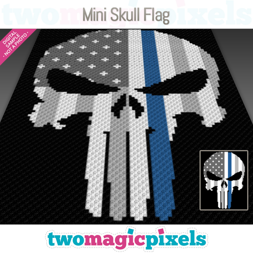 Mini Skull Flag by Two Magic Pixels
