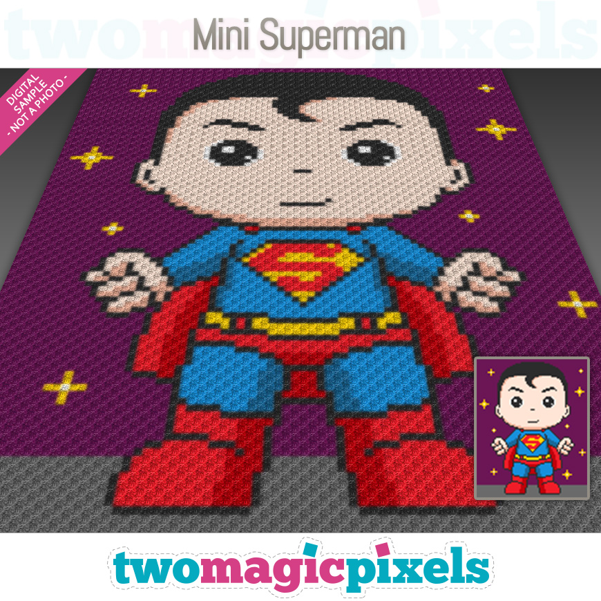 Mini Superman by Two Magic Pixels