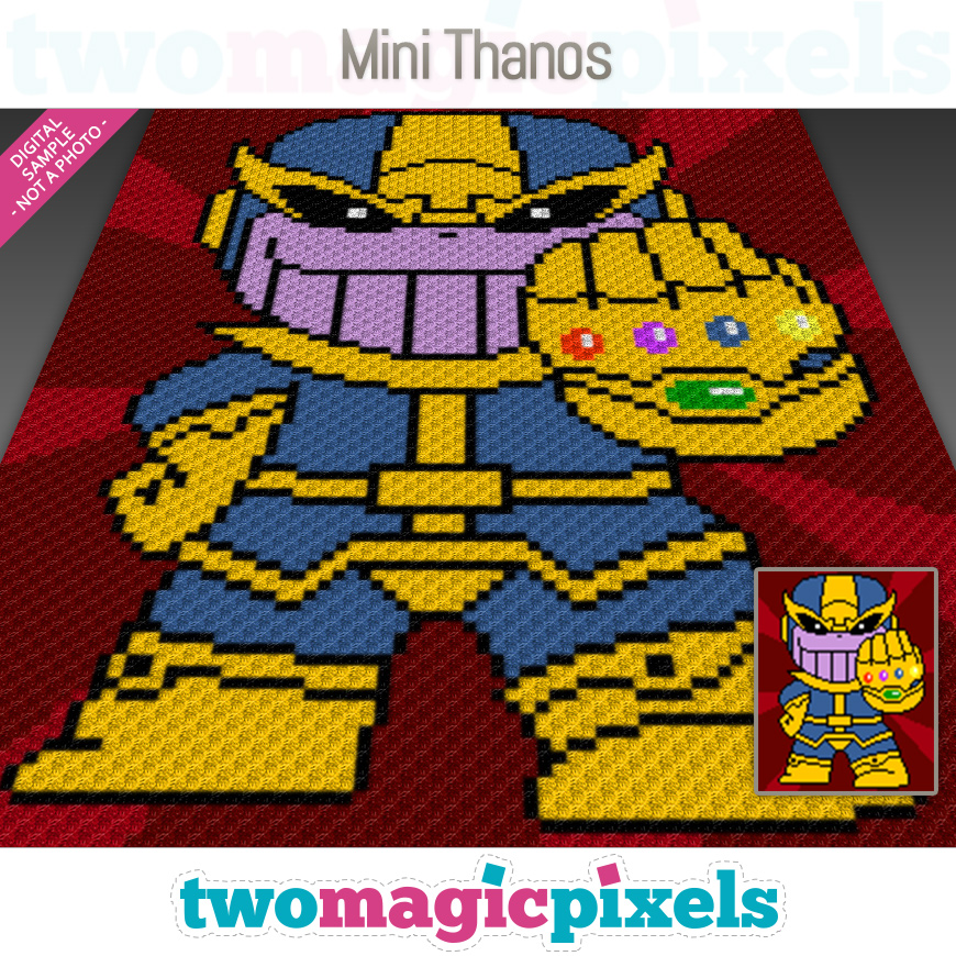Mini Thanos by Two Magic Pixels