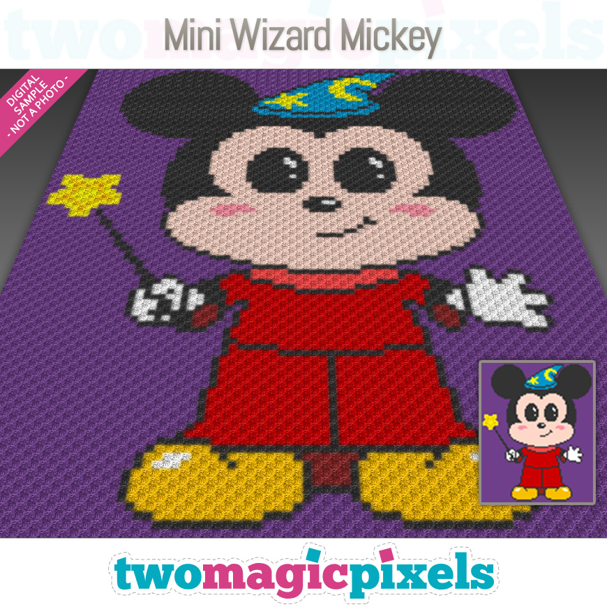 Mini Wizard Mickey by Two Magic Pixels