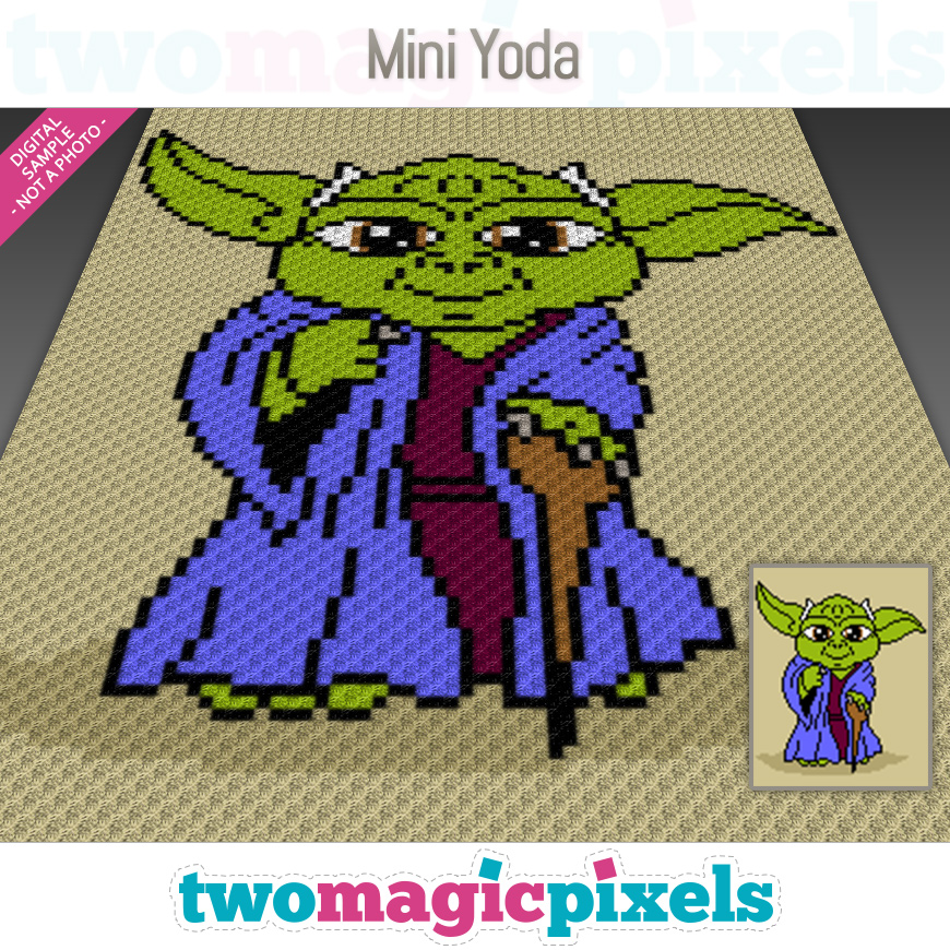 Mini Yoda by Two Magic Pixels