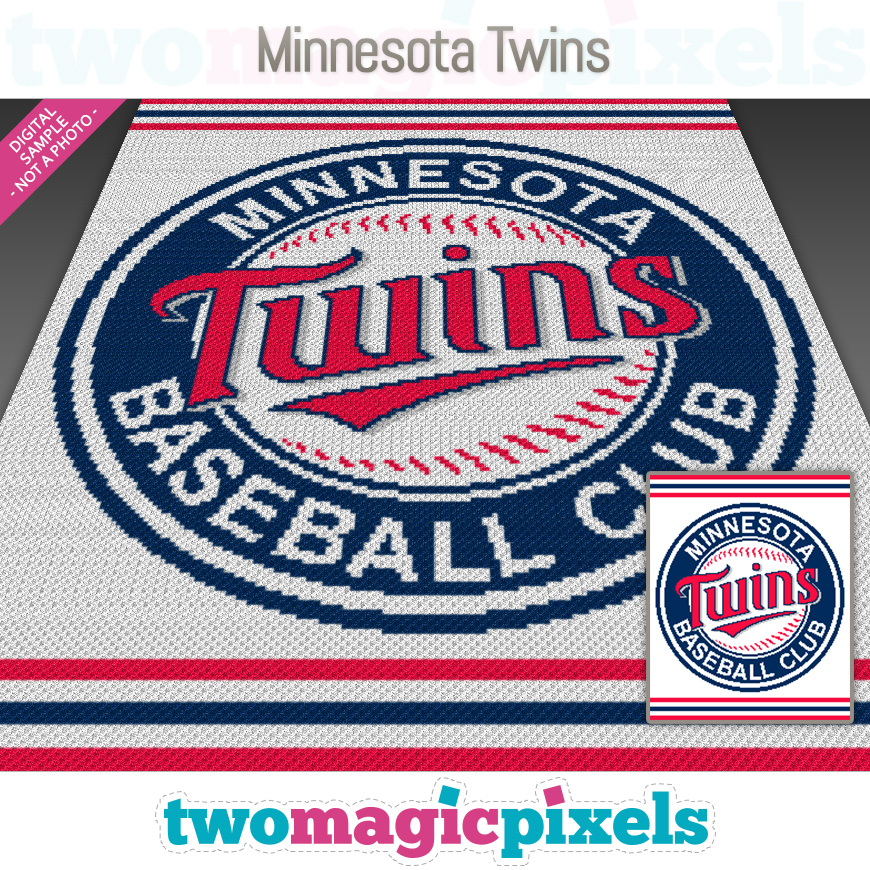 Minnesota Twins by Two Magic Pixels