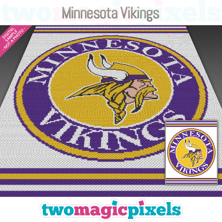 Minnesota Vikings by Two Magic Pixels