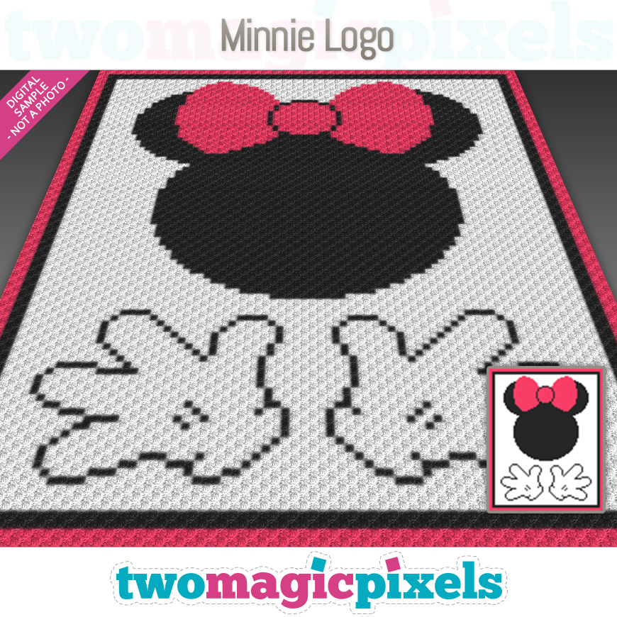 Minnie Logo by Two Magic Pixels
