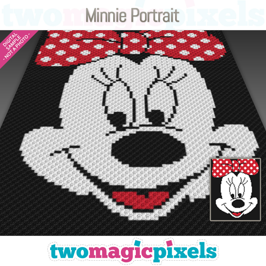 Minnie Portrait by Two Magic Pixels