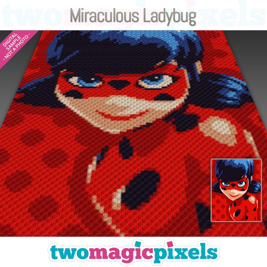 Miraculous Ladybug by Two Magic Pixels