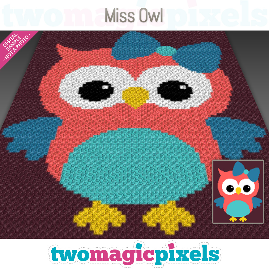 Miss Owl by Two Magic Pixels