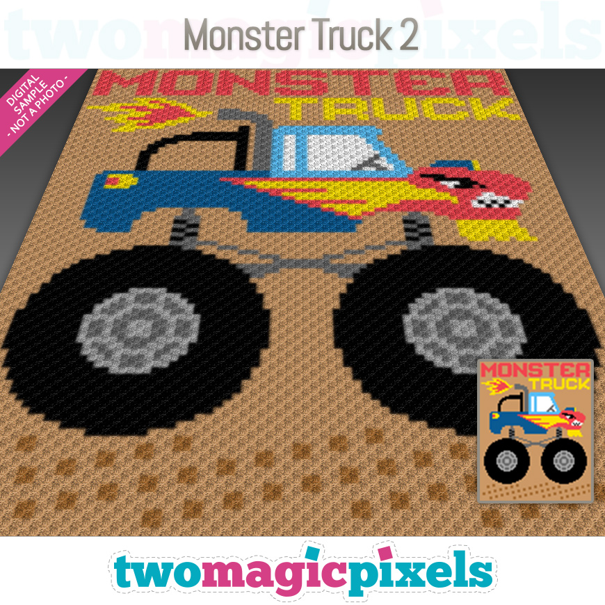 Monster Truck 2 by Two Magic Pixels