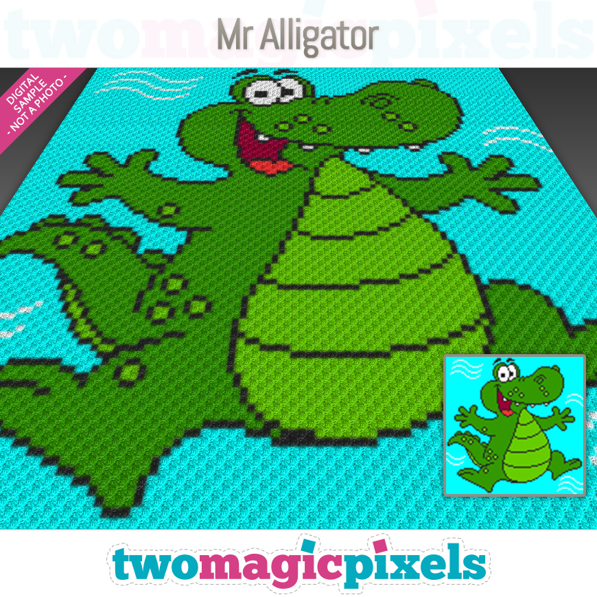 Mr. Alligator by Two Magic Pixels