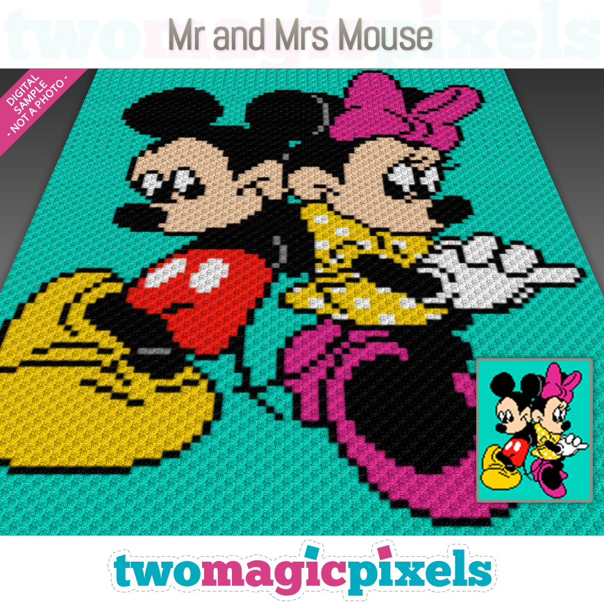 Mr. and Mrs. Mouse by Two Magic Pixels