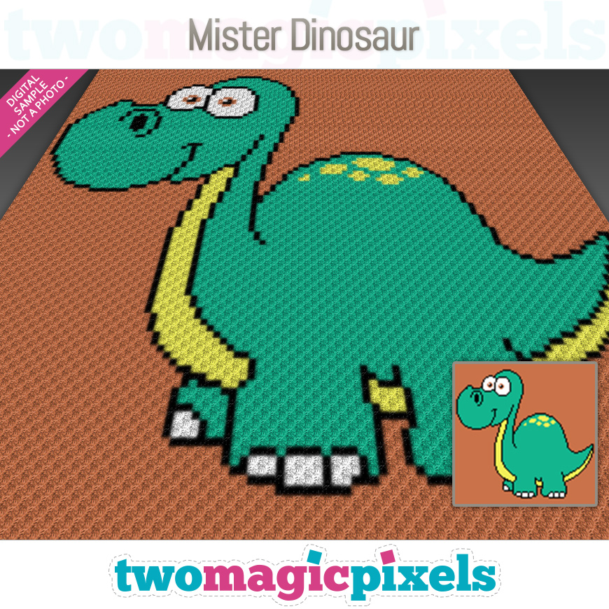 Mr. Dinosaur by Two Magic Pixels