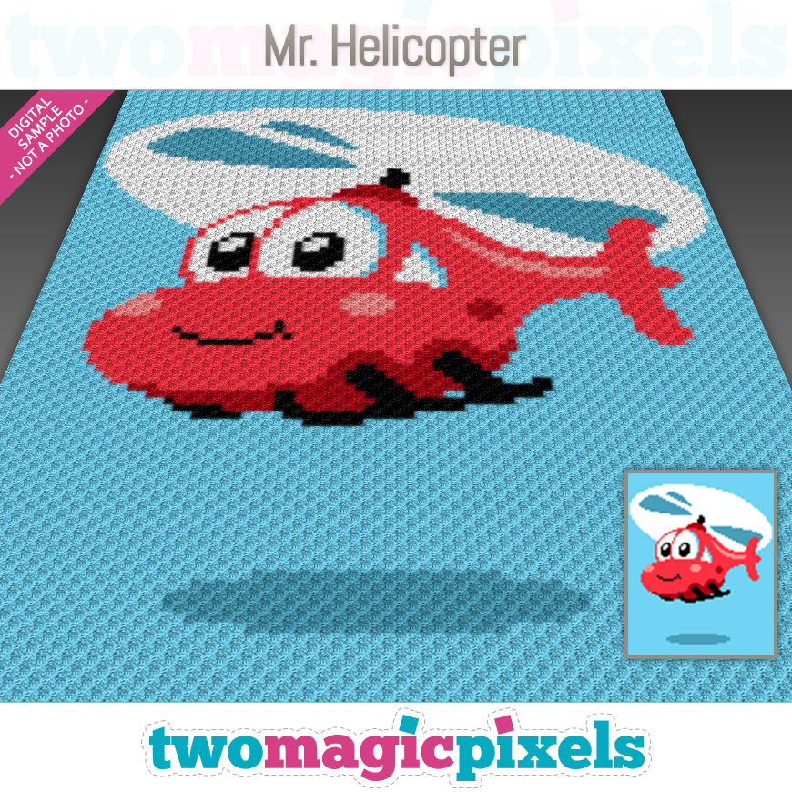 Mr. Helicopter by Two Magic Pixels