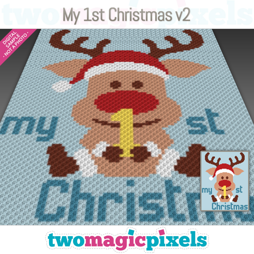 My 1st Christmas V2 by Two Magic Pixels