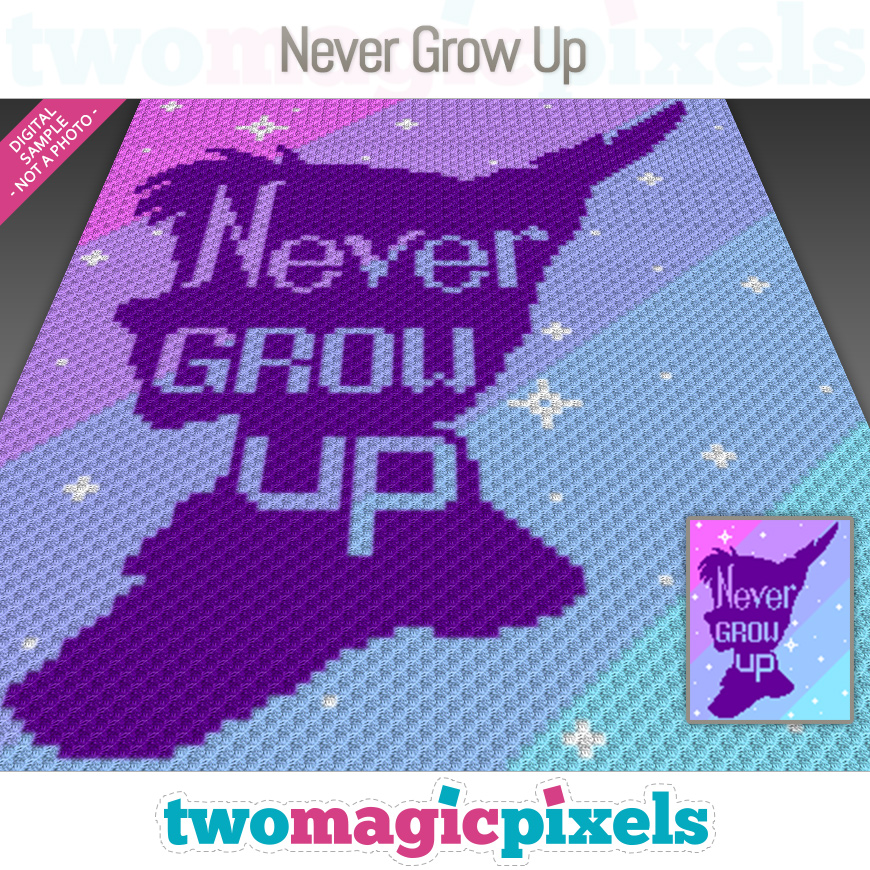 Never Grow Up by Two Magic Pixels