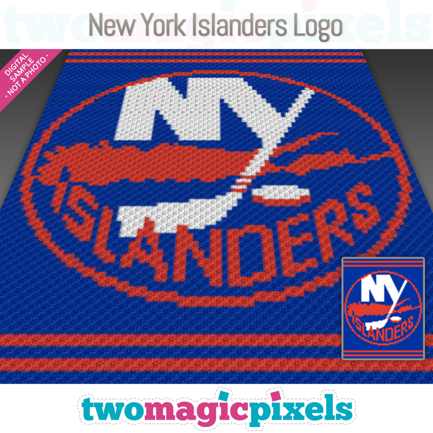 New York Islanders Logo by Two Magic Pixels