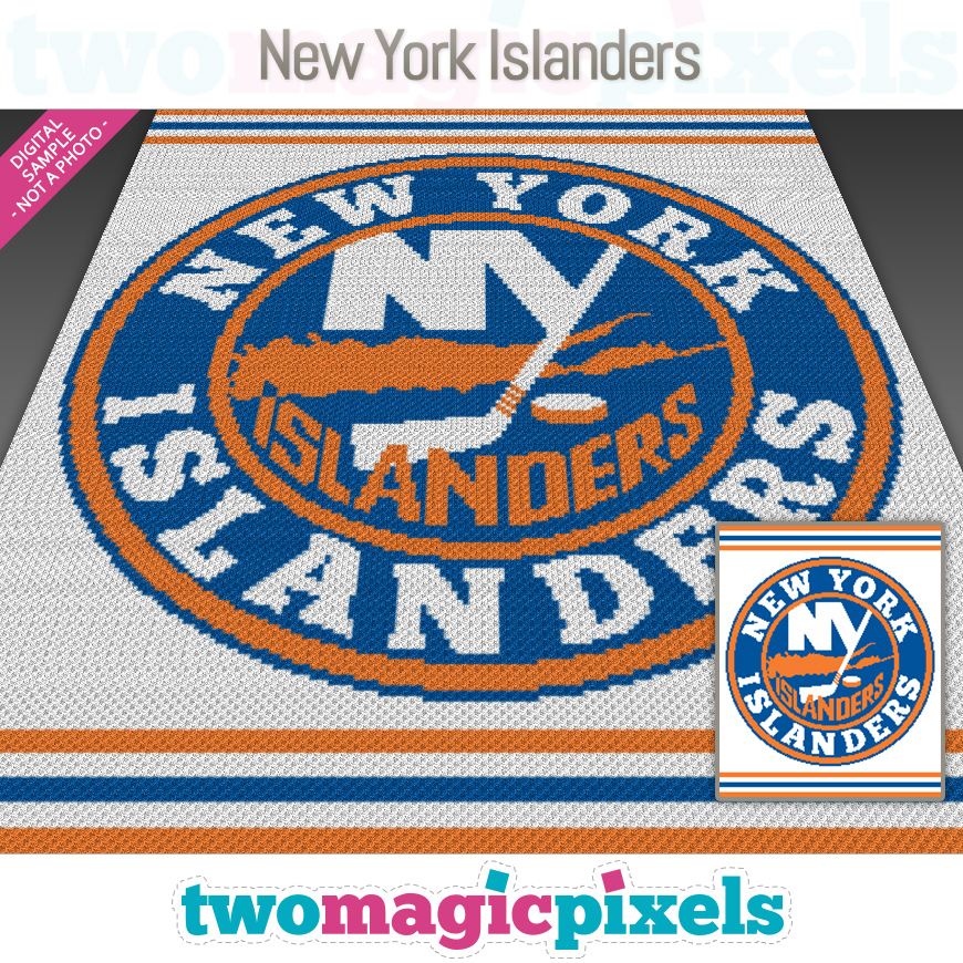 New York Islanders by Two Magic Pixels