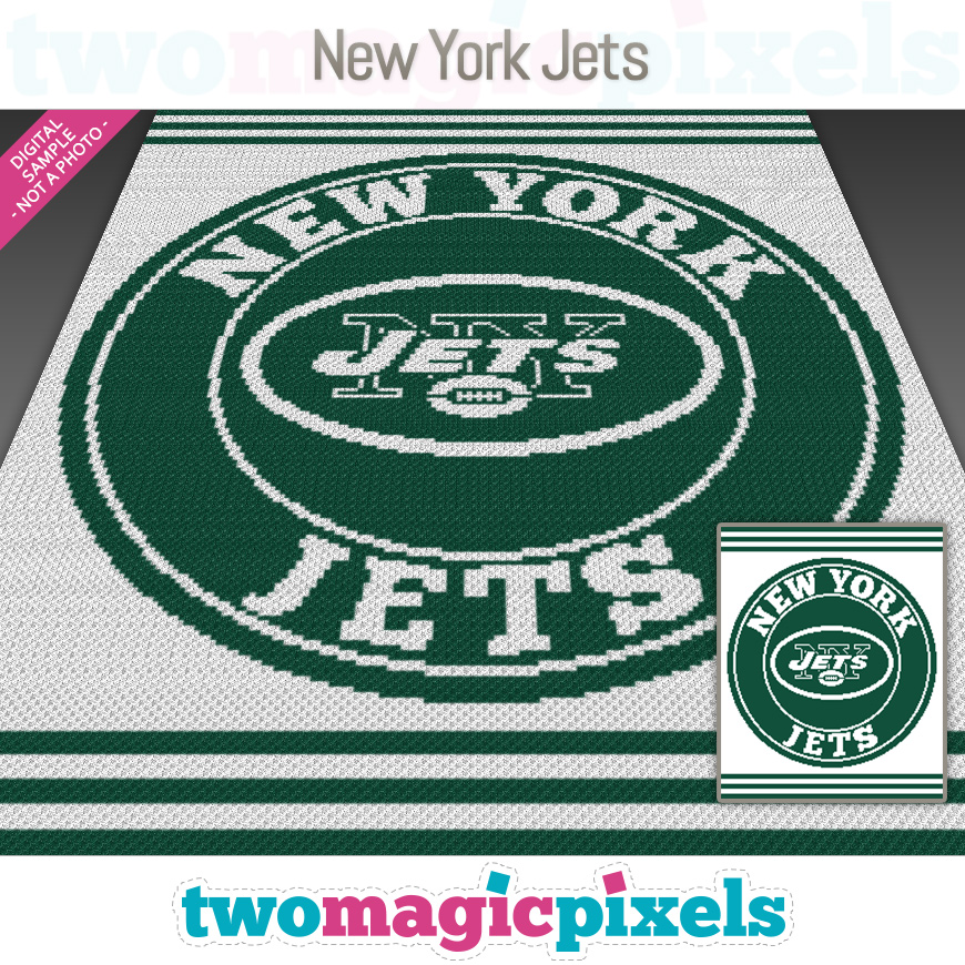 New York Jets by Two Magic Pixels