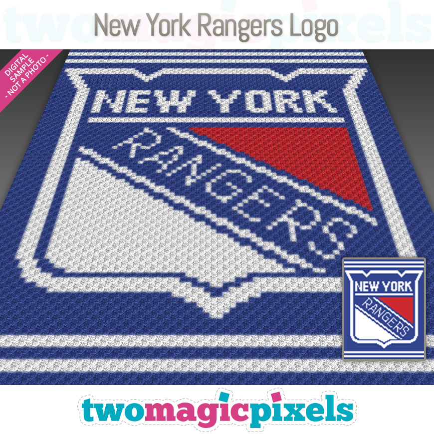 New York Rangers Logo by Two Magic Pixels