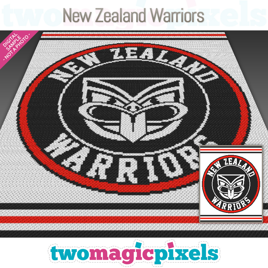 New Zealand Warriors by Two Magic Pixels