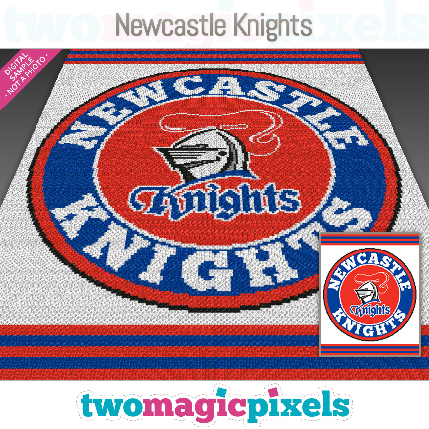 Newcastle Knights by Two Magic Pixels