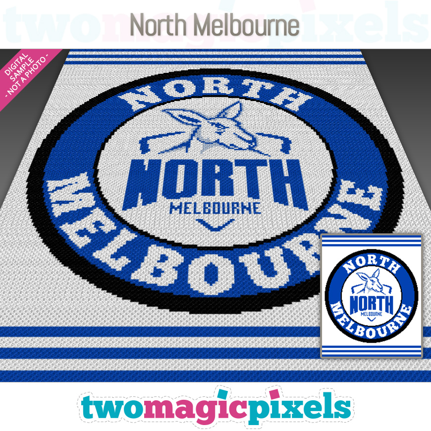 North Melbourne by Two Magic Pixels