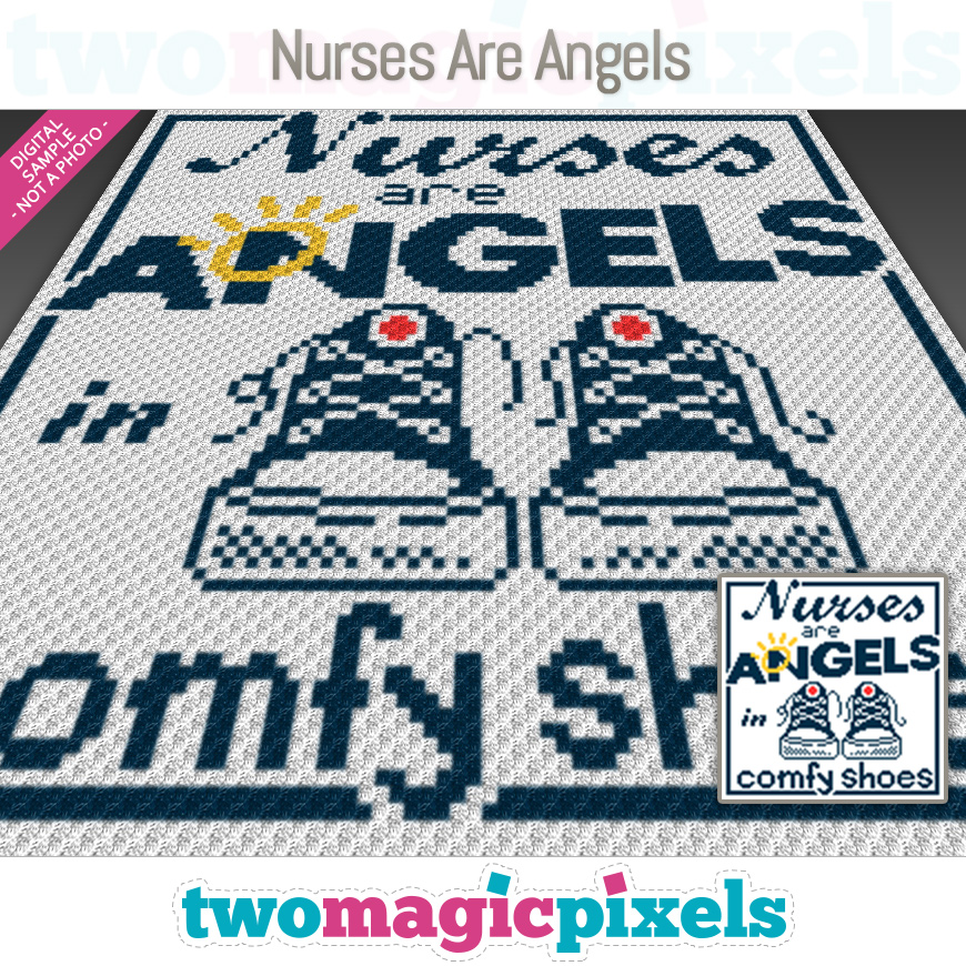 Nurses Are Angels by Two Magic Pixels