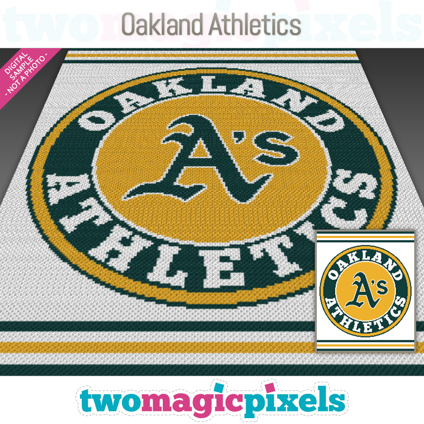 Oakland Athletics by Two Magic Pixels