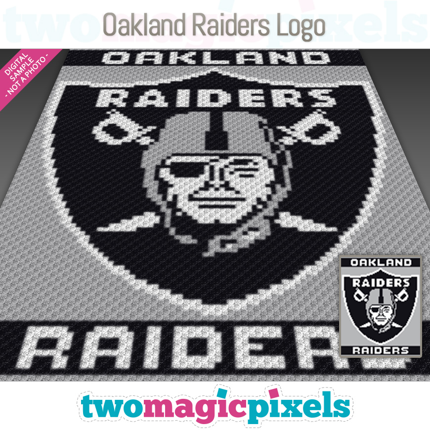 Oakland Raiders Logo by Two Magic Pixels