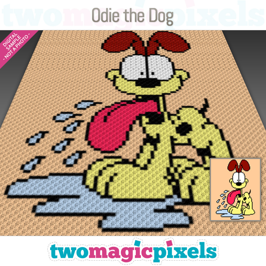 Odie The Dog by Two Magic Pixels