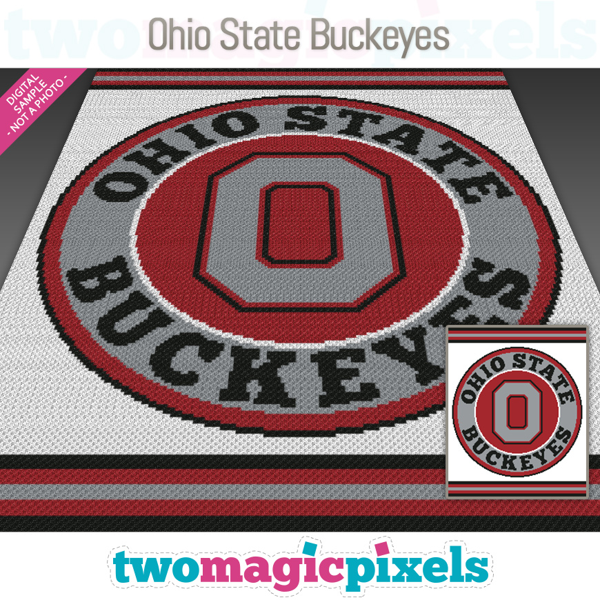 Ohio State Buckeyes by Two Magic Pixels