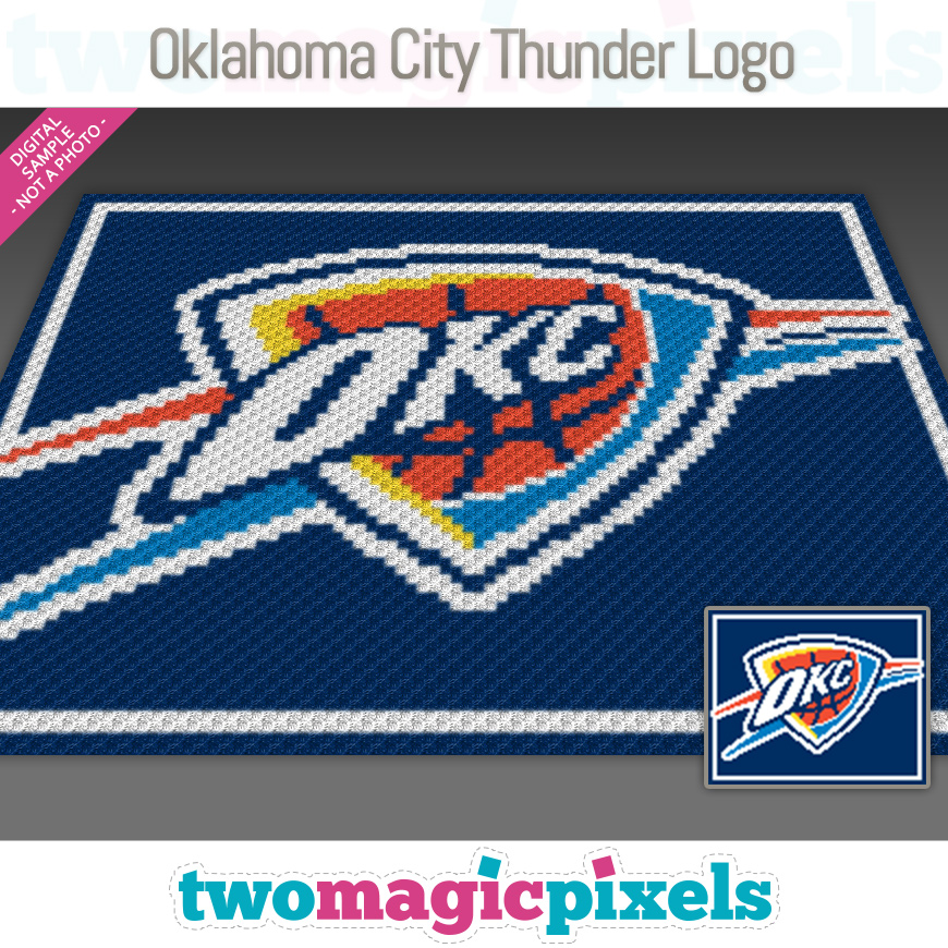 Oklahoma City Thunder Logo by Two Magic Pixels