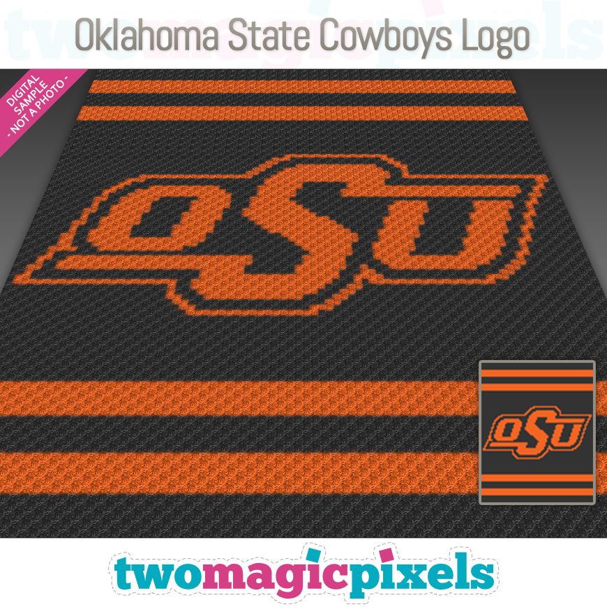 Oklahoma State Cowboys Logo by Two Magic Pixels