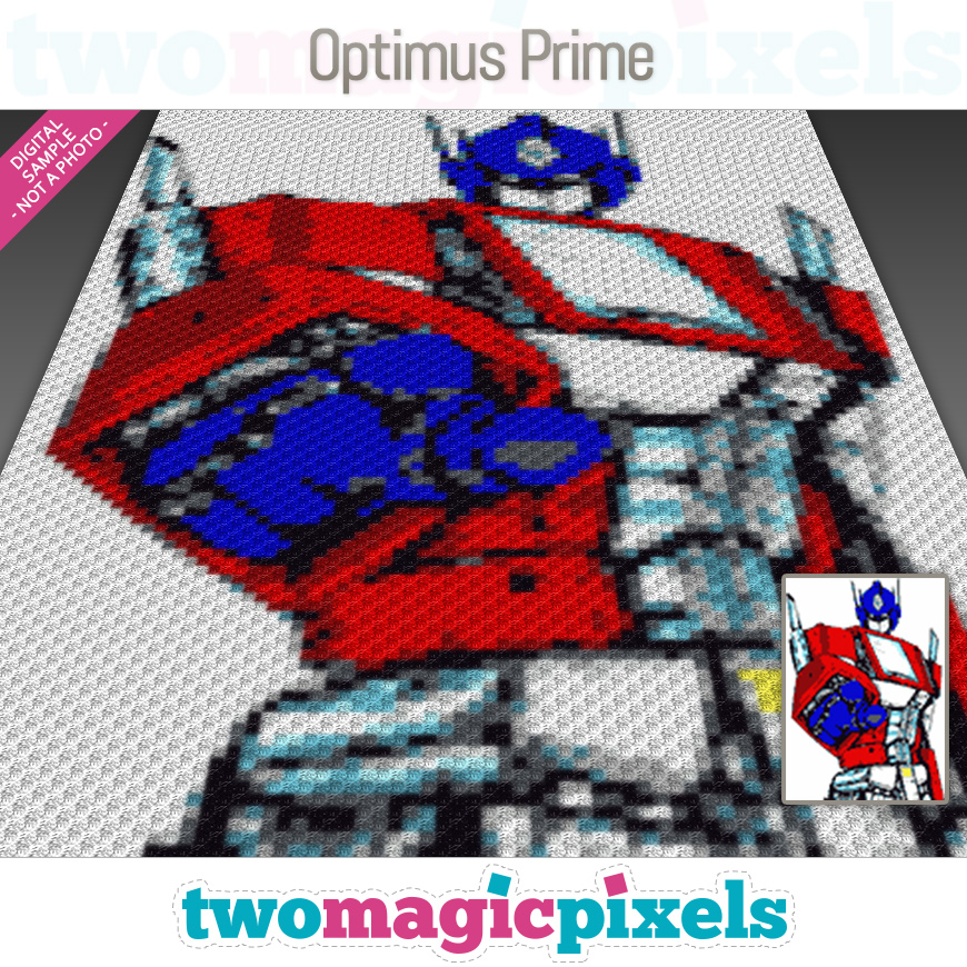 Optimus Prime by Two Magic Pixels