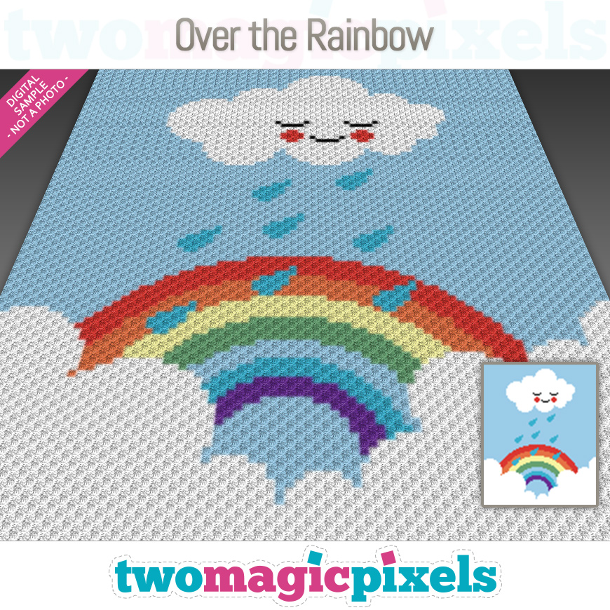 Over The Rainbow by Two Magic Pixels
